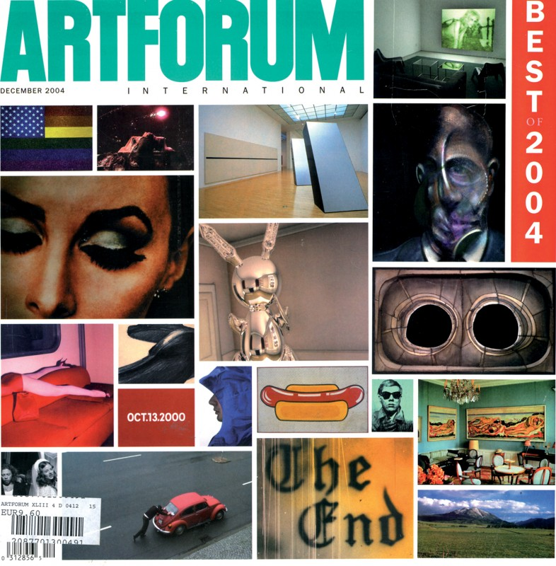 "Best of 2004, décember, ""Paris on the ground"" by Jeff Rian - Artforum international"